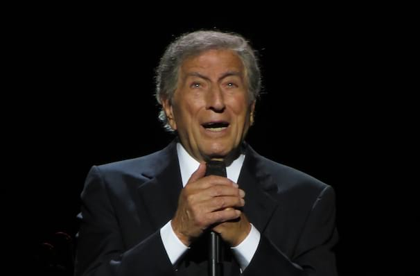 Just one chance to see Tony Bennett