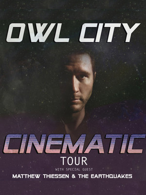 Owl City, Center Stage Theater, Atlanta