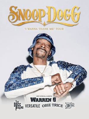 Snoop Dogg at Scotiabank Saddledome