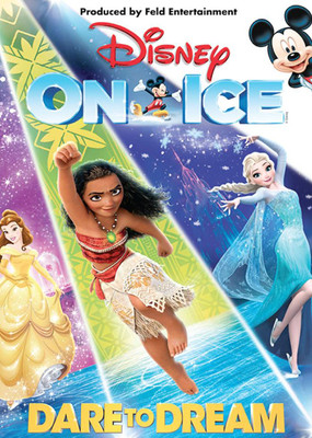 Disney On Ice Dare To Dream, El Paso County Coliseum, El Paso