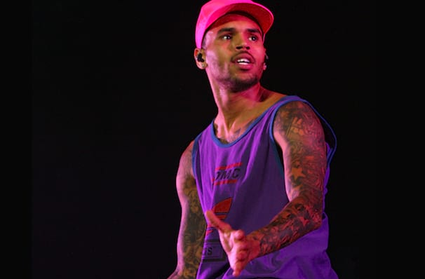 Chris Brown's one night visit to Fresno