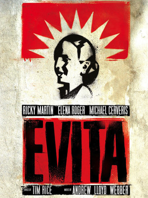 Evita at Marquis Theater