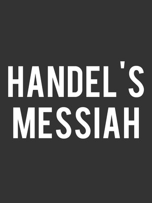 Handels Messiah, NAC Southam Hall, Ottawa