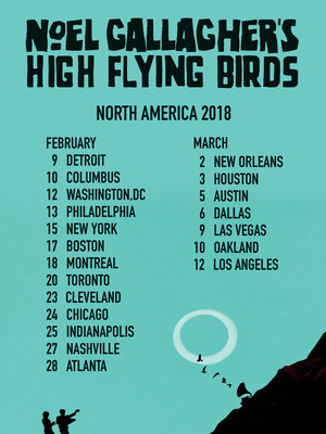 Noel Gallagher's High Flying Birds at Boston Opera House