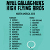 Noel Gallaghers High Flying Birds, Salle Wilfrid Pelletier, Montreal
