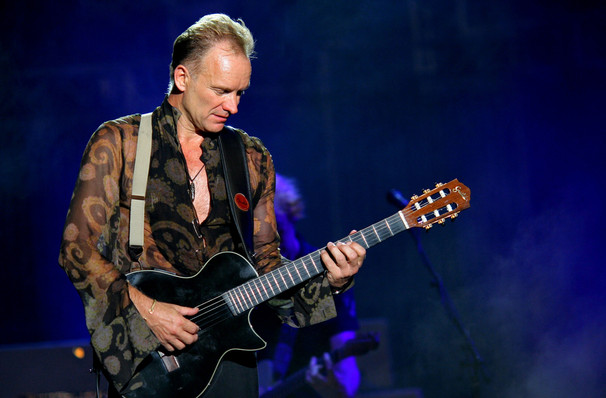 Sting's whistlestop visit to Chicago