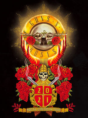 Guns N Roses, Toyota Center, Houston