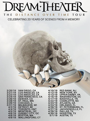 Dream Theater, Toyota Oakdale Theatre, Hartford