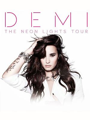 Demi Lovato at Izod Center