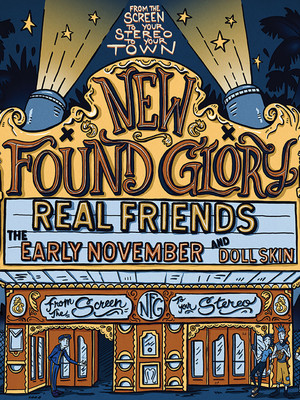 New Found Glory Poster