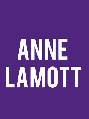 Anne Lamott Poster