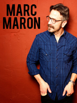 Marc Maron at Ferguson Hall