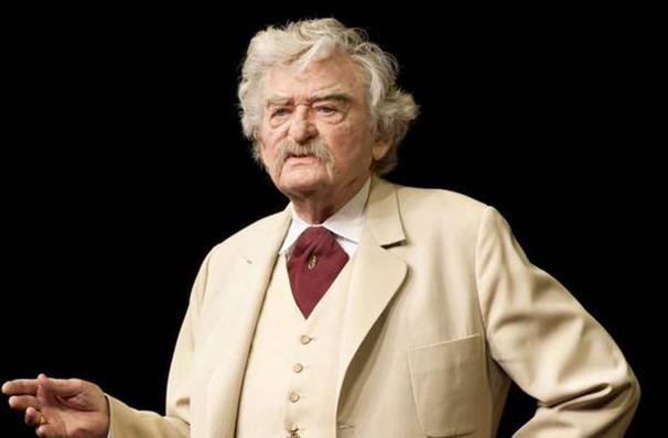 Hal Holbrook: Mark Twain Tonight - Merriam Theater ...