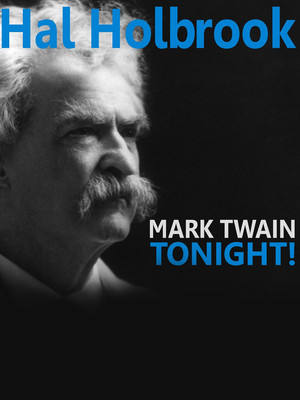 Hal Holbrook Mark Twain Tonight, Merriam Theater, Philadelphia