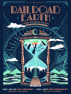 Railroad Earth, The Castle Theatre, Peoria