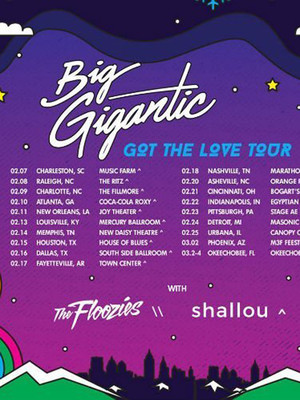 Big Gigantic, Intersection, Grand Rapids