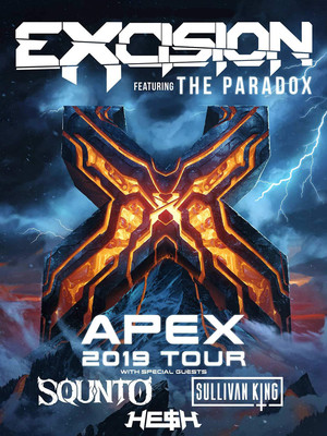 Excision, Revention Music Center, Houston