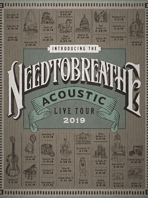 Needtobreathe, Orpheum Theatre, Wichita