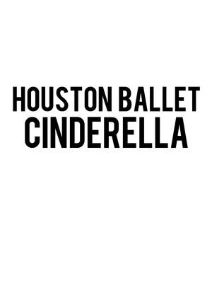 Houston Ballet: Cinderella Poster