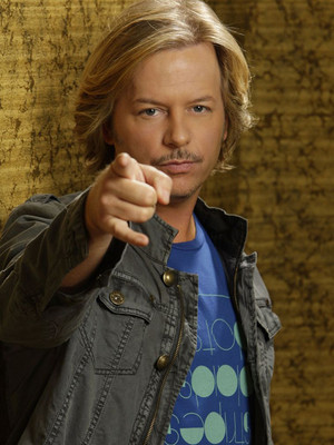 David Spade at Palace of Fine Arts