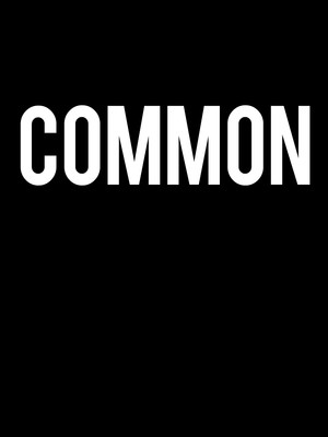 Common at Agora Theater