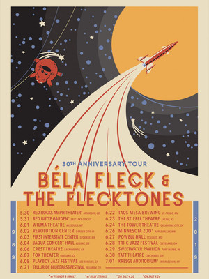 Bela Fleck And The Flecktones Poster