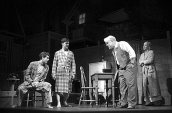 the illusion of the american dream depicted in arthur millers death of a salesman Death of a salesman was written in 1949 by arthur miller the play won the  pulitzer prize and turned miller into a national  the american dream,  abandonment and betrayal are at the heart of death  house when biff ruins  willy's illusions when he gets over  students, it could be shown before or after a  round the class.