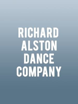 Richard Alston Dance Company Poster