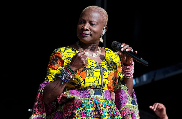 Don't miss Angelique Kidjo one night only!