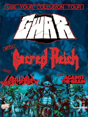 GWAR at Cone Denim Entertainment Center
