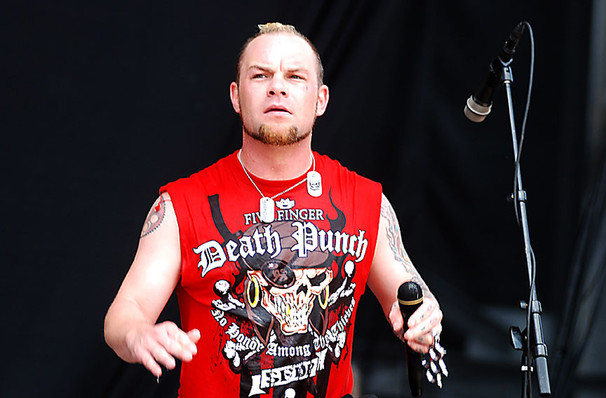 Five Finger Death Punch, Portland Memorial Coliseum, Portland