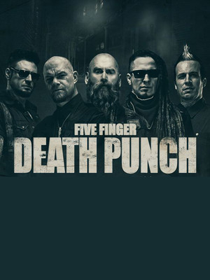 Five Finger Death Punch, Verizon Arena, Little Rock
