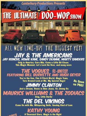 Ultimate Doo Wop Show at Beacon Theater