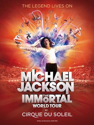 Cirque du Soleil - Michael Jackson The Immortal Poster