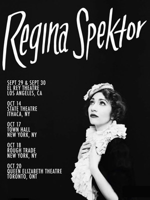 Regina Spektor, Orpheum Theater, Boston