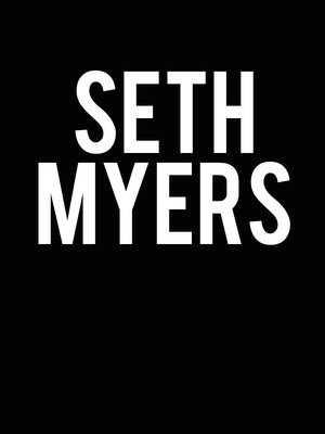 Seth Meyers, State Theater, Minneapolis