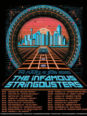 The Infamous Stringdusters, Teragram Ballroom, Los Angeles