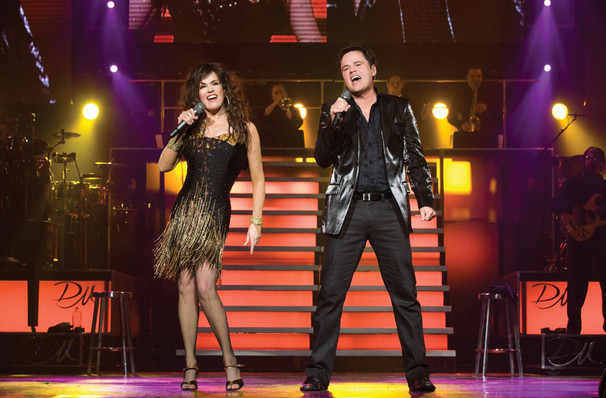 Catch Donny and Marie Osmond it's not here long!
