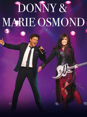 Donny and Marie Osmond Poster
