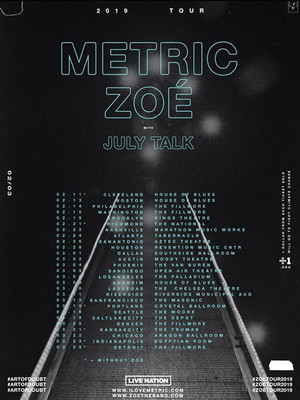 Metric, The National, Richmond
