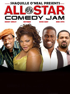 Shaquille O'Neal All Star Comedy Jam Poster
