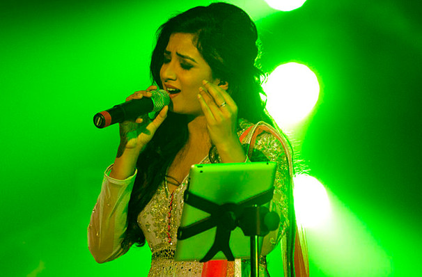 Shreya Ghoshal, CURE Insurance Arena, New Brunswick