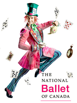 National Ballet Of Canada: Alice's Adventures in Wonderland Poster