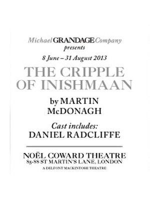 The Cripple of Inishmaan Poster