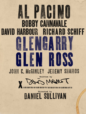 Glengarry Glen Ross at Gerald Schoenfeld Theater