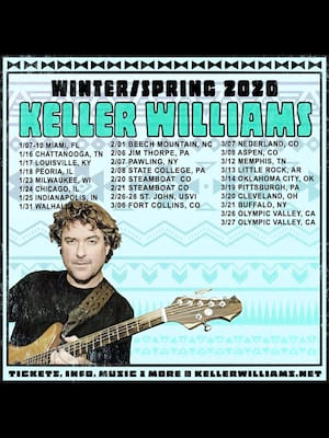 Keller Williams, Tower Theatre OKC, Oklahoma City