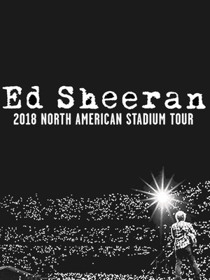 Ed Sheeran, Ford Field, Detroit