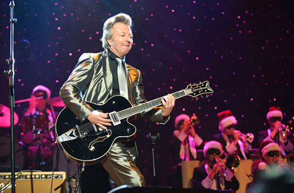 Brian Setzer Orchestra: Christmas Rocks's one night visit to Akron