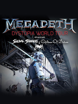 Megadeth, Rockland Trust Bank Pavilion, Boston