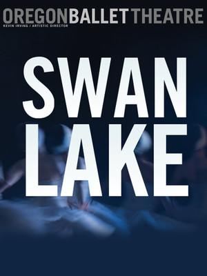 Oregon Ballet Theatre: Swan Lake Poster